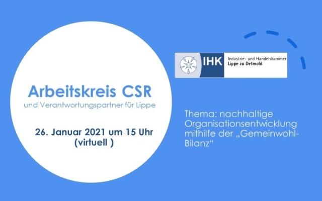 Online-Event der IHK Lippe zu Detmold mit GWÖ-Schwerpunkt